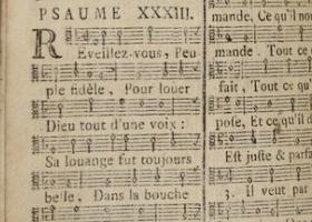 Psaumes, AEG A 437, détail