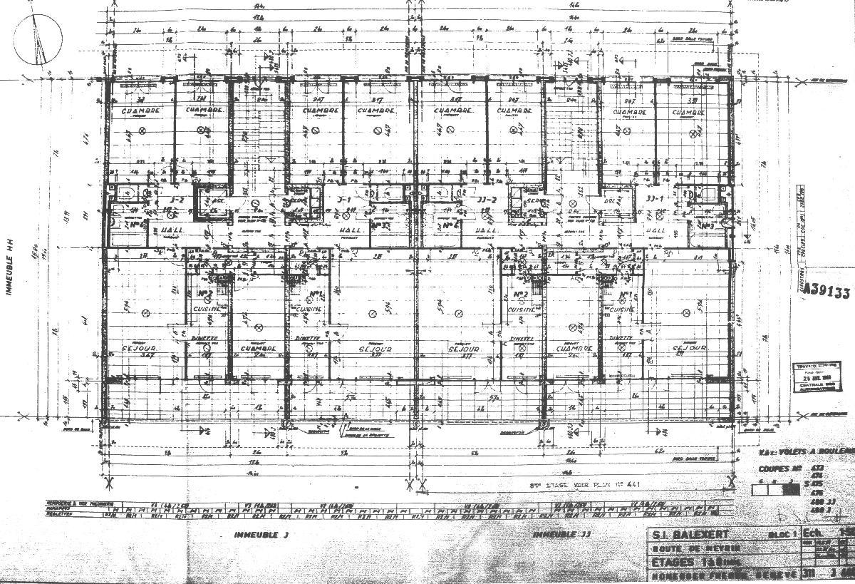 Recensement architectural du canton de gen ve for Courant architectural