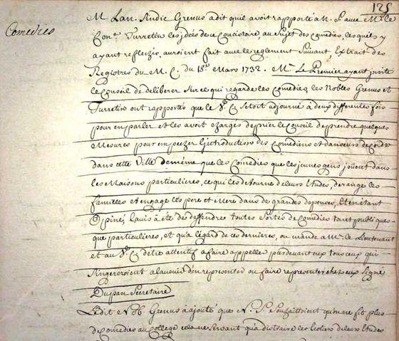 14 Controverse Rousseau Voltaire La Question Du Théâtre