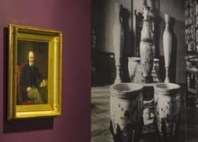 Portrait de G. Revilliod et vue du musée
