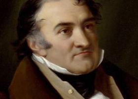 Portrait de  Jean-Charles-Leonard Simonde dit de  Sismondi (1773-1842), économiste  et historien genevois © Bibliothèque de  Ge