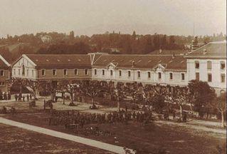 Ancien arsenal de Plainpalais, aile droite