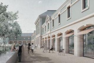 cour du Nouvel Hôtel des Archives